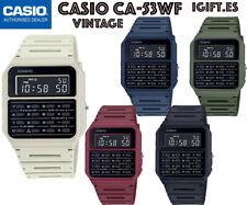 CASIO CA-53WF-1B⎪CA-53WF-2B⎪CA-53WF-3B⎪CA-53WF-4B⎪CA-53WF-8B⎪CALCULADORA⎪Vintage