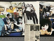 KISS 1990's Magazine Pinup's / Clippings