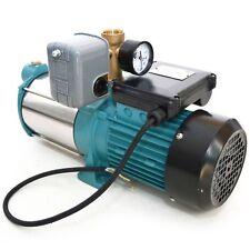 Kreiselpumpe Jetpumpe Gartenpumpe 1300 Watt 6000 L/h 5,5 bar mit Druckschalter