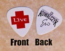 LIVE band Signature logo guitar pick  -(w)