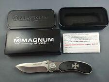 Magnum by Böker Iron Cross Eisernes Kreuz Messer knife - 01RY921