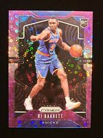 2019-20 Panini Prizm RJ Barrett PURPLE FAST BREAK PRIZM #250 SSP RC #/75 NYK 📈