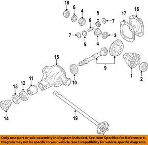 NISSAN OEM Rear Differential-Side Bearings 384400C000