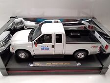 NEW-Ford memorabilia: F-350 Lariat Super Duty model die cast car 1:18_VALUE $70