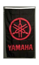 Free Ship to USA YAMAHA VERTICAL BLACK RED FLAG BANNER 3x5 feet ATV yfz yzf