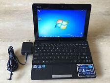 "ASUS Eee PC SEASHELL 1011CX 10"" NETBOOK WINDOWS 7  2GB RAM 250GB HD WEBCAM"