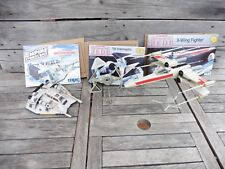 LOT DE 3 MAQUETTES Star Wars MPC ERTL