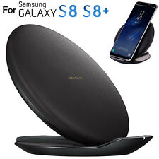 15W Qi Fast Wireless Charger Rapid Charging Stand for Samsung Galaxy S8/ S8 Plus