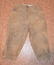 Trachten Damen kurze Hose Wildleder Gr. 38