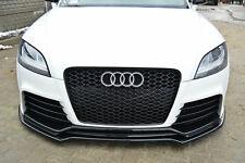 Audi TT RS 8J 06-14 Front Bumper Lower Lip spoiler Cup Chin S Valance Splitter