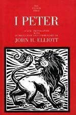 1 Peter (The Anchor Yale Bible Commentaries) by J.H. Elliott Paperback Book