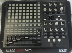 Akai APC40 MIDI Ableton Controller