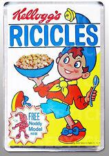 RICICLES NODDY cereal box LARGE FRIDGE MAGNET  - CLASSIC RETRO!