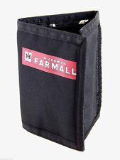 IH McCormick Farmall Black Nylon Trifold Wallet