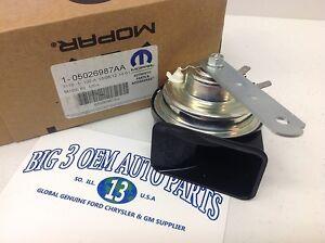07-10 Chrysler Sebring 08-12 Dodge Avenger HIGH note HORN new OEM 5026987AC