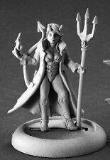 Devil Girl Super Villian Chronoscope Reaper Miniatures RPG Hellborn Caster Mage