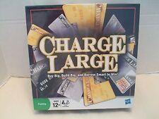 Charge Large Buy Big, Build Big, And Borrow Smart To Win! Hasbro NIB 2009!