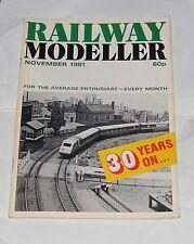 RAILWAY MODELLER VOLUME 33 NUMBER 373 NOVEMBER 1981- DENROYD