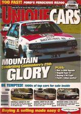 Unique Cars 229 03 V6 Capri Jaguar XJR LHD HR  RS200 Bathurst Commodore VH VK VL