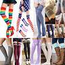 Women Winter Warm Socks Leggings Soft Knit Over Knee Long Boot Thigh-High UK