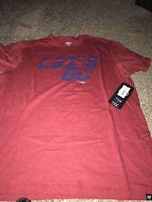 New England Patriots  47 Brand Let s Go Super Bowl Club Shirt XL Red d2dc8b821