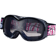 Dirty Dog Fresh Snow Ski Snowboard Goggles Shiny Black Grey SAVE OVER 50%