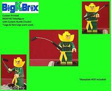 IRON FIST Marvel Custom Printed Minifigure using Lego & Non-Lego & Numb Chucks!