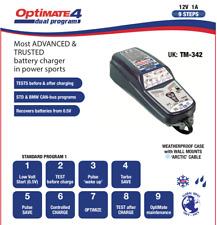 Optimate 4 Dual 12V Motorcycle Battery Charger & Optimiser New 2017 SAE Model