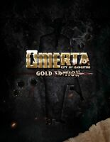 Omerta - City of Gangsters Gold Edition - PC  New Sealed