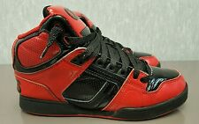 Osiris NYC 83 Bronx, Boys Skateboarding Shoes, Size 6 Y, Red / Black, 3130607
