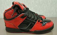 Osiris NYC 83 Bronx, Boys Skateboarding Shoes, Size 6 Y, Red / Black, 3130607