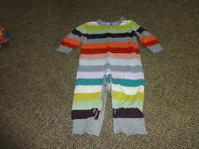 BABY GAP 6-12 STRIPED  SWEATER STYLE OUTFIT