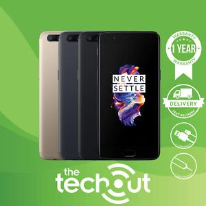 OnePlus 5 Dual-SIM Smartphone 64GB/128GB Slate Grey/Soft Gold/Black Unlocked