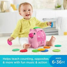 NEW Fisher-Price Smart Stages Piggy Bank w/ Songs & Music Pretend Play Baby Toy