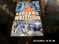 Legends Of Wrestling (Sony PlayStation PS2) Instruction Manual Only... NO GAME
