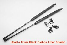 Fit Toyota Supra MK4 JZA80 3.0 NA / Turbo CARBON Bonnet Hood + Trunk Damper Kit