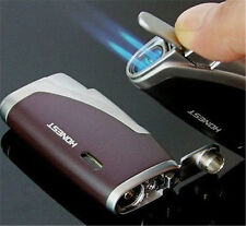 Honest  Double Nozzles Torch Flame Butane Jet Cigar Windproof Gas Lighter