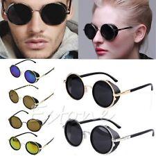Cyber Goggles 50s Round Glasses Classic Steampunk Sunglasses Retro Style Blinder