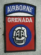/Us Army Patch 82nd Airborne Division,Grenada