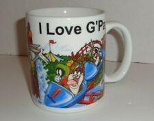 Looney Tunes Coffee Mug Bugs Bunny Porky Pig Six Flags Warner Bros.I Love G'Pa