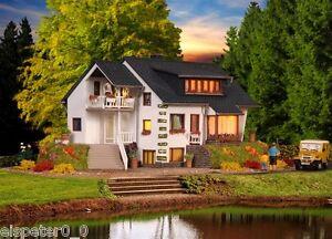 Vollmer 43711, H0 Haus am See, Modell Bausatz 1:87