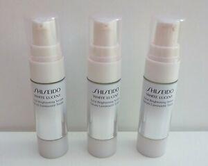 Set of 3 Shiseido White Lucent Total Brightening Serum, 3x9ml=27ml, Brand New
