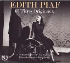 DITH PIAF - 65 TITRES ORIGINAUX NEW CD