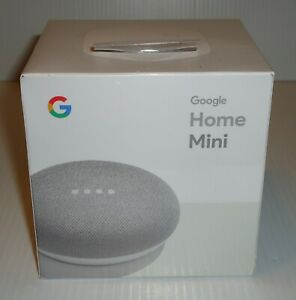 NEW Sealed Google Home Mini Smart Speaker w/ Assistant GA00210-US 1st Gen Chalk
