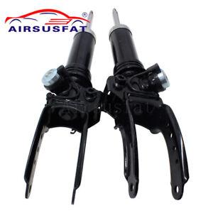 Pair For Audi Q7 VW Touareg Cayenne Front Air Suspension Shock 7L6616403B 02-10