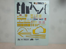 DECAL FERRARI 333 SP24H DAYTONA 1996  #30 BBR 1/43 COD.MET58