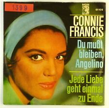 "7"" single-Connie Francis-devi restare, Angelino-s1408"