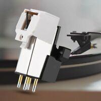 Audio-Technica MM Moving Magnet Cartridge LP Phono Turntable Phonograph Stylus