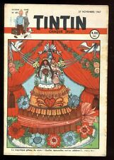 Journal de TINTIN belge  1947  n°48  27 novembre  1947  Couverture  TIMMERMANS