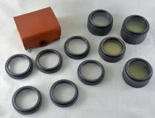 Polaroid Land Camera Closeup Lens Kit #550 filter adapters 110A 110B 120 110